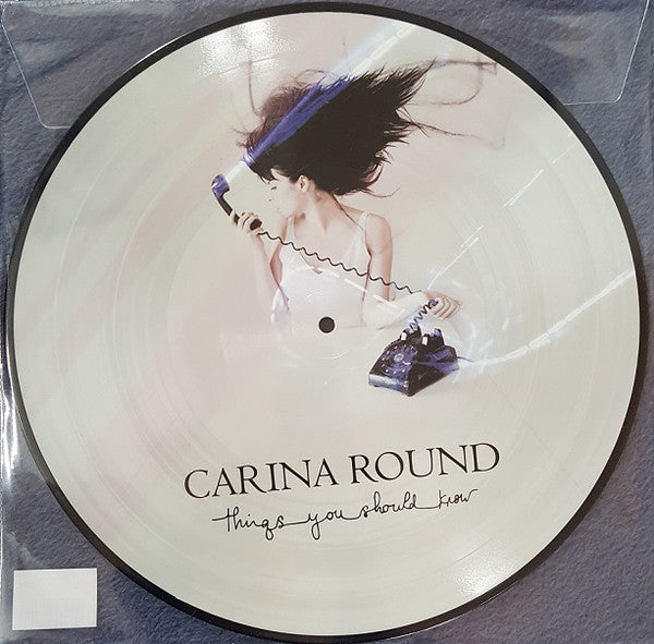 "Carina Round ‎– Things You Should : Do Yourself In Records (2) ‎– DYI024LP : Vinyl, 12"", EP, Limited Edition, Picture Disc"