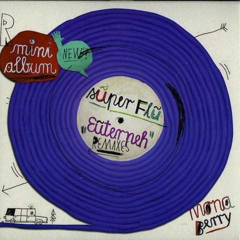 Super Flu ‎– Euterpeh Remixes : Monaberry ‎– mona10-6, Monaberry ‎– monaberry 10-6 : Vinyl, 12""