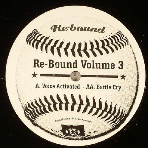 Q Project & Total Science ‎– Re-Bound Volume 3 : Rebound Recordings ‎– REBOU 003 : Vinyl, 12""