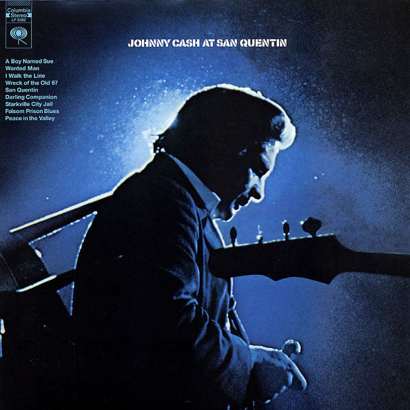 Johnny Cash ‎– Johnny Cash At San Quentin : Sundazed Music ‎– LP 5362 : Vinyl, LP, Album, Reissue