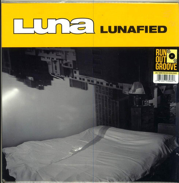 Luna (5) ‎– Lunafied : Run Out Groove ‎– ROGV-040 : 2 × Vinyl, LP, Compilation, Numbered, White