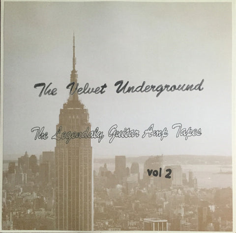 The Velvet Underground ‎– The Legendaly Guitar Amp Tapes Vol 2 : Tummy Tapes (2) ‎– none : Vinyl, LP, Compilation, Unofficial Release