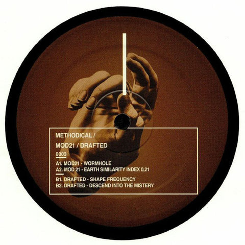 "Mod21 / Drafted ‎– 00003 : Methodical ‎– 0003 : Vinyl, 12"", 33 ⅓ RPM"