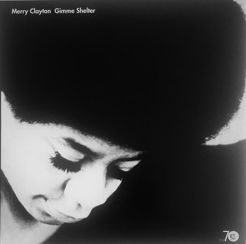 Merry Clayton ‎– Gimme Shelter : Real Gone Music ‎– RGM-0563 : Vinyl, LP, Album, Club Edition, Numbered, Reissue, Clear w/Black Smoke