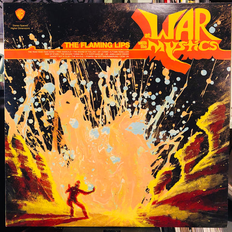 The Flaming Lips ‎– At War With The Mystics : Warner Bros. Records ‎– 49966-1 : Vinyl, LP, Turquoise Marbled  Vinyl, LP, Orange Marbled  All Media, Album