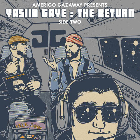 Amerigo Gazaway - Yasiin Gaye: The Return (Side Two) - Not On Label (Amerigo Gazaway Self-released) - YASIINGAYE2 - 2xLP, Album