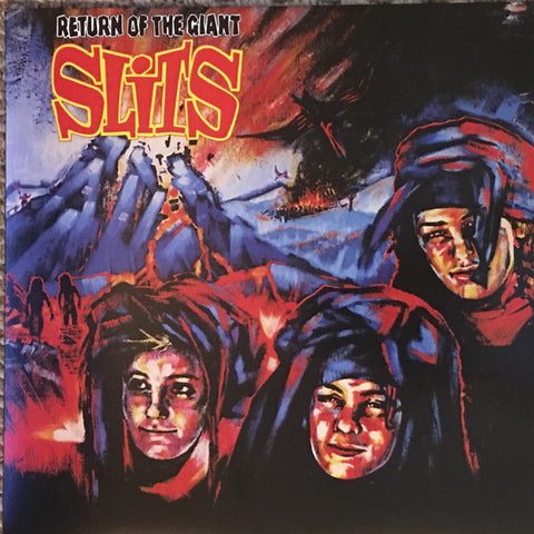 The Slits ‎– Return Of The Giant Slits : Sony Music ‎– 88985445211, Real Gone Music ‎– RGM-0602 : Vinyl, LP, Album, Club Edition, Limited Edition, Numbered, Reissue, Red / Black Swirl