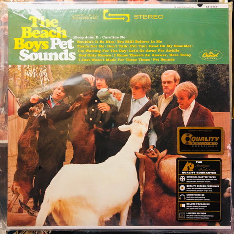 The Beach Boys ‎– Pet Sounds : Analogue Productions ‎– APP 067-45, Capitol Records ‎– ST 2458, Universal Music Special Markets ‎– B0019909-1 : 2 × Vinyl, LP, 45 RPM, Album, Reissue, Remastered, Stereo, 200 Gram