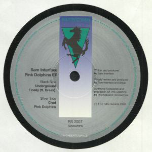 "Sam Interface ‎– Pink Dolphins EP : R & S Records ‎– RS 2007 : Vinyl, 12"", 33 ⅓ RPM, EP"
