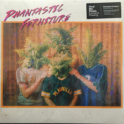 Phantastic Ferniture ‎– Phantastic Ferniture : Polyvinyl Record Company ‎– PRC-363, Transgressive Records ‎– TRANS335X LC19411 : Vinyl, LP, Album, Club Edition, Limited Edition, Numbered, Green/Pink Translucent Split