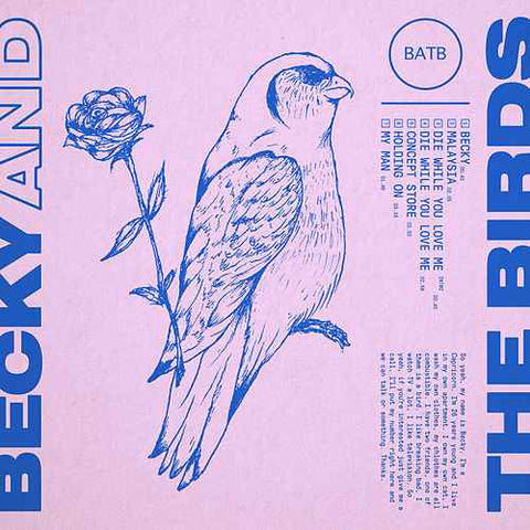 "Becky And The Birds ‎– Becky And The Birds : Not On Label ‎– none Series: Vinyl Me, Please. Rising – : Vinyl, 10"", 45 RPM, EP, Club Edition, Limited Edition, Numbered, Pink"