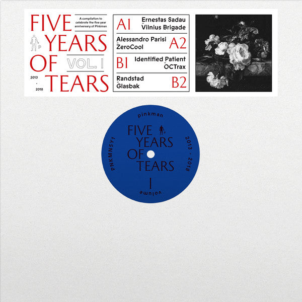 "Various ‎– Five Years Of Tears Vol. 1 : Pinkman ‎– PNKMN5Y1 : Vinyl, 12"", 33 ⅓ RPM, EP"