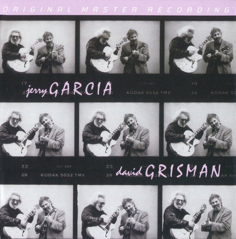 Jerry Garcia / David Grisman ‎– Jerry Garcia / David Grisman : Mobile Fidelity Sound Lab ‎– MFSL 2-430 Series: Original Master Recording – , GAIN 2™ Ultra Analog LP 180g Series – : 2 × Vinyl, LP, Album, Limited Edition, Numbered, Reissue
