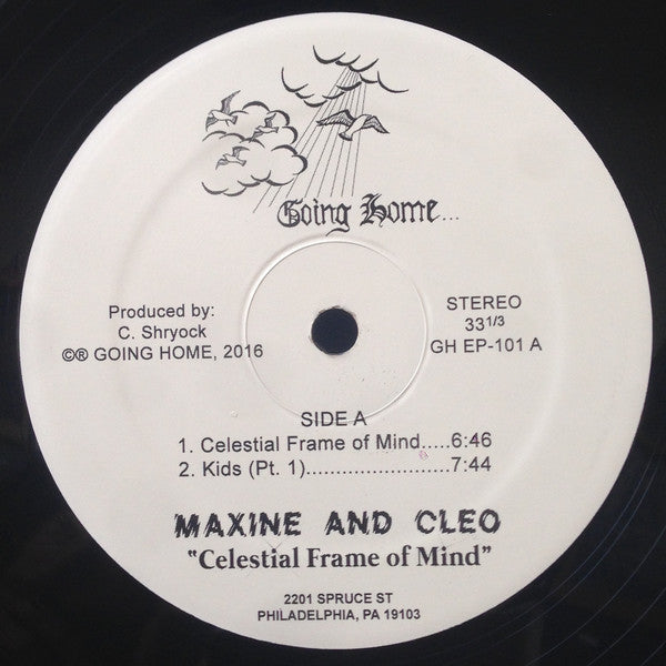 "Maxine And Cleo* ‎– Celestial Frame Of Mind : Going Home ‎– GH EP-101 : Vinyl, 12"", 33 ⅓ RPM, Limited Edition, Numbered"