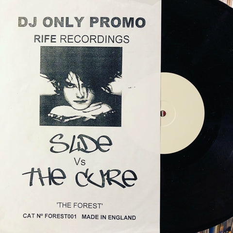 "Cass & Slide ‎– A Forest : Not On Label ‎– FOREST 1 : Vinyl, 12"", Unofficial Release, Single, Single Sided, White Label"