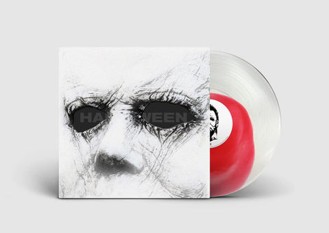 "John Carpenter, Cody Carpenter, Daniel Davies ‎– Halloween (Original Motion Picture Soundtrack) : Sacred Bones Records ‎– SBR-213 : Vinyl, LP, Limited Edition, Numbered, Stereo, Clear with Red ""Blood Puddle"""