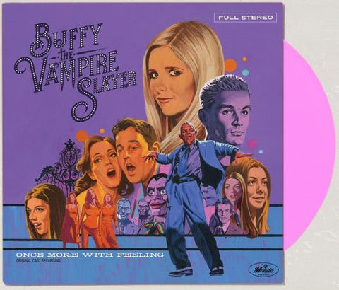 "Various ‎– Buffy The Vampire Slayer: ""Once More, With Feeling"" : Mondo (3) ‎– MOND-121 : Vinyl, LP, Limited Edition, Reissue, Stereo, Hot Pink, 180g"