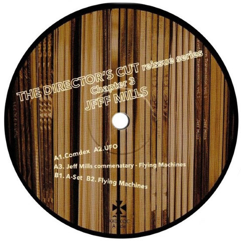 "Jeff Mills ‎– The Director's Cut Chapter 3 : Axis ‎– AX080DC : Vinyl, 12"", Remastered"