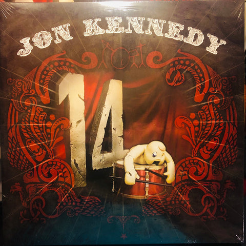 Jon Kennedy ‎– 14 : Organik Recordings ‎– ORG12010 : 2 × Vinyl, LP, Album, 45 RPM, White