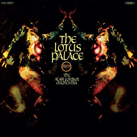 The Alan Lorber Orchestra ‎– The Lotus Palace : Modern Harmonic ‎– MH-8097 : Vinyl, LP, Album, Mono, Gatefold, Gold