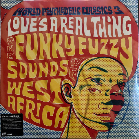Various ‎– Love's A Real Thing (The Funky Fuzzy Sounds Of West Africa) : Luaka Bop ‎– 6 80899 0052-1-0 Vinyl Me, Please. Exclusive Pressing – : 2 × Vinyl, LP, Compilation, Club Edition, Limited Edition, Numbered, Transparent Orange