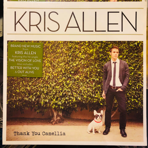 Kris Allen ‎– Thank You Camellia : 19 Recordings ‎– 88691-97408-1 : Vinyl, LP, Album
