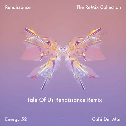 "Energy 52 ‎– Cafe Del Mar (Remixes) : Renaissance ‎– REN250002V Series: Renaissance - The ReMix Collection – #2 : Vinyl, 12"", 45 RPM"