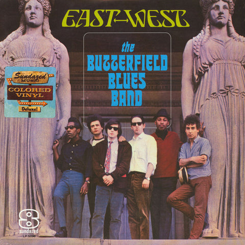 The Paul Butterfield Blues Band ‎– East-West : Sundazed Music ‎– LP 5096 : Vinyl, LP, Album, Reissue, Blue