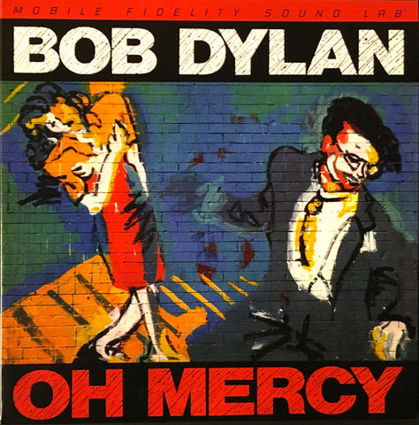 "Bob Dylan ‎– Oh Mercy : Mobile Fidelity Sound Lab ‎– MFSL 2-488, Columbia ‎– 88875022541 Series: Gain 2™ Ultra Analog 45RPM 180g Series – : 2 × Vinyl, 12"", 45 RPM, Album, Limited Edition, Numbered, Reissue, Remastered, 180g, Gatefold"