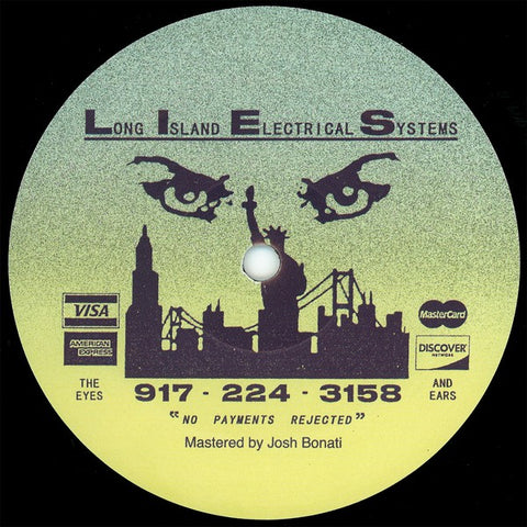 "Florian Kupfer ‎– Florian Kupfer : L.I.E.S. (Long Island Electrical Systems) ‎– LIES099 : Vinyl, 12"", EP"