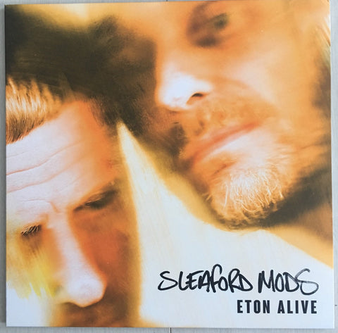 Sleaford Mods ‎– Eton Alive : Extreme Eating Records ‎– EE 001 : Vinyl, LP, Stereo, Green