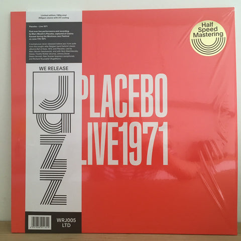 Placebo (2) ‎– Live 1971 : We Release Jazz ‎– WRJ005 LTD : Vinyl, LP, Album, Limited Edition
