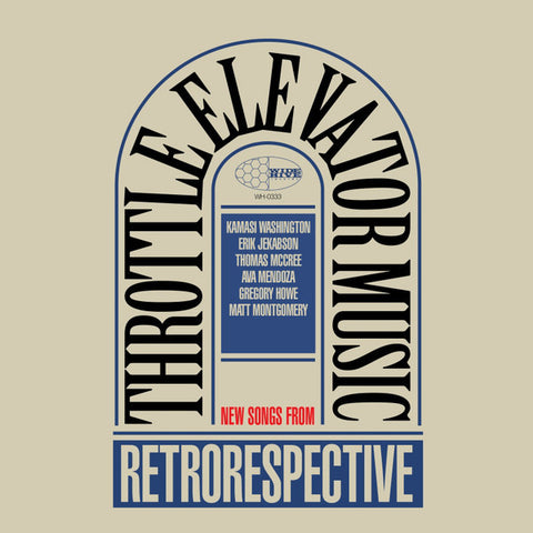 Throttle Elevator Music ‎– Retrorespective : Wide Hive Records ‎– B01M267JKU : Vinyl, LP, Album, Stereo