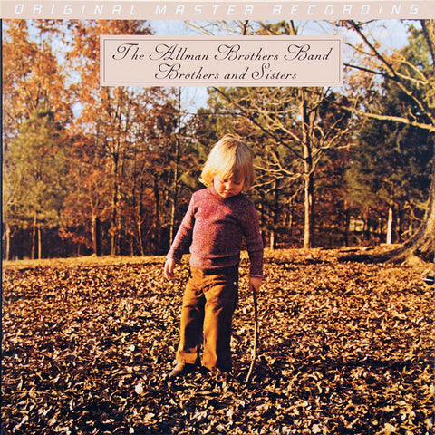 The Allman Brothers Band ‎– Brothers And Sisters : Mobile Fidelity Sound Lab ‎– MFSL 1-399 : Original Master Recording – , GAIN 2™ Ultra Analog LP 180g Series – : Vinyl, LP, Album, Numbered, Reissue, Remastered, 180 Gram, Gatefold