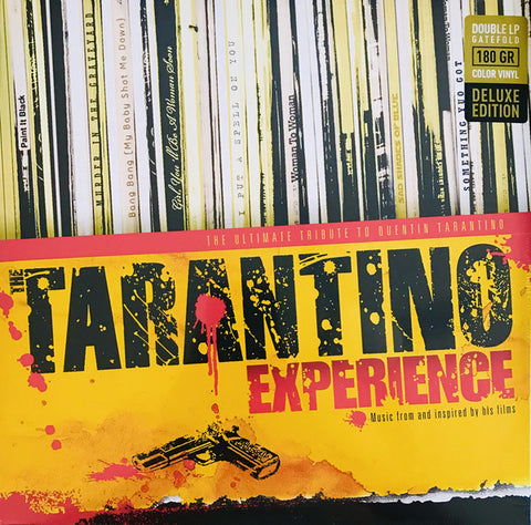Various ‎– The Tarantino Experience : Music Brokers ‎– VYN036 : 2 × Vinyl, LP, Compilation, Deluxe Edition, Stereo, Red & Yellow