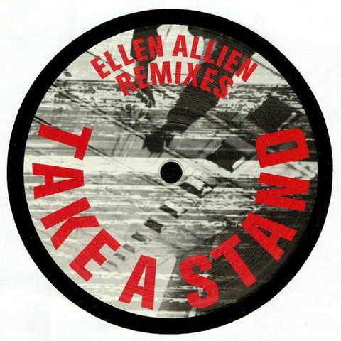 "Ellen Allien ‎– Take A Stand Remixes : BPitch Control ‎– BPC338 : Vinyl, 12"", EP, Stereo"