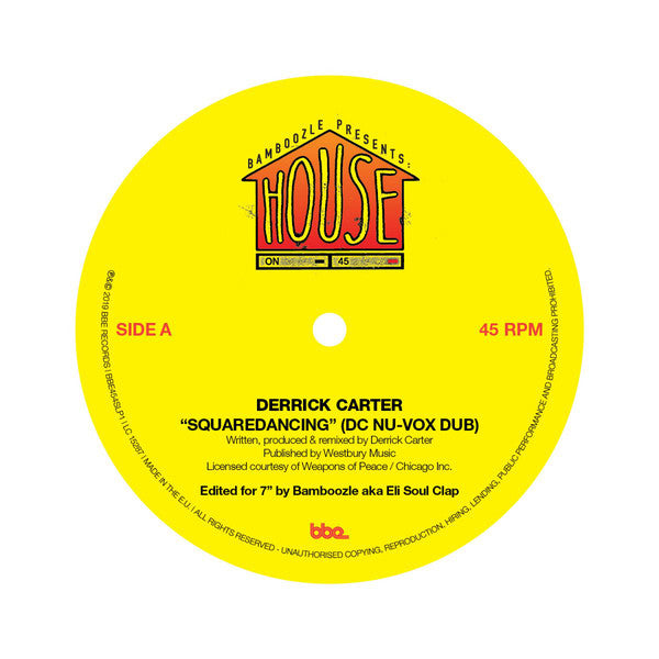 "Derrick Carter / George Alexander (4) & Big John Whitfield ‎– Squaredancing / Promised Land : BBE ‎– BBE454SLP1 : Vinyl, 7"", 45 RPM"