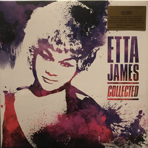 Etta James ‎– Collected : Music On Vinyl ‎– MOVLP2520 : 2 × Vinyl, LP, Compilation, Limited Edition, Purple Vinyl