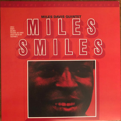 "Miles Davis Quintet* ‎– Miles Smiles : Mobile Fidelity Sound Lab ‎– MFSL 2-486, Columbia ‎– 88883731571, Sony Music Commercial Music Group ‎– 88883731571 – : 2 × Vinyl, 12"", 45 RPM, Album, Limited Edition, Numbered, Reissue, Remastered, Gatefold, 180 Gram"