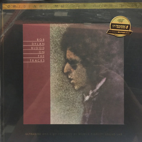 "Bob Dylan ‎– Blood On The Tracks : Mobile Fidelity Sound Lab ‎– UD1S 2-006, Series: UltraDisc One-Step – , Original Master Recording – : 2 × Vinyl, 12"", 45 RPM, Album, Limited Edition, Numbered, Reissue, 180 Gram, SuperVinyl"