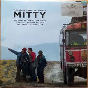 Theodore Shapiro Featuring José González ‎– The Secret Life Of Walter Mitty : Music On Vinyl ‎– MOVATM049, Sony Classical ‎– , 20th Century Fox ‎– , Fox Music ‎– : At The Movies – : Vinyl, LP, Album, Limited Edition, Numbered, opaque blue vinyl