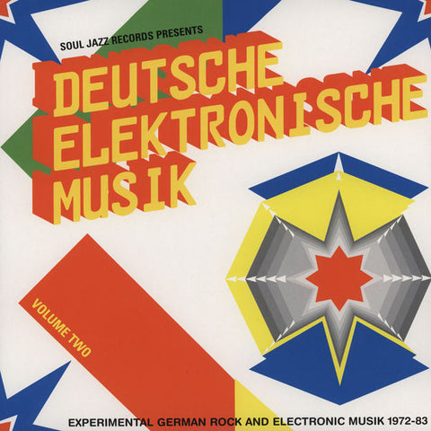 Various ‎– Deutsche Elektronische Musik (Experimental German Rock And Electronic Musik 1972-83) (Volume Two) : Soul Jazz Records ‎– SJR LP213 VOL.2 Series: Deutsche Elektronische Musik – : 2 × Vinyl, LP, Compilation