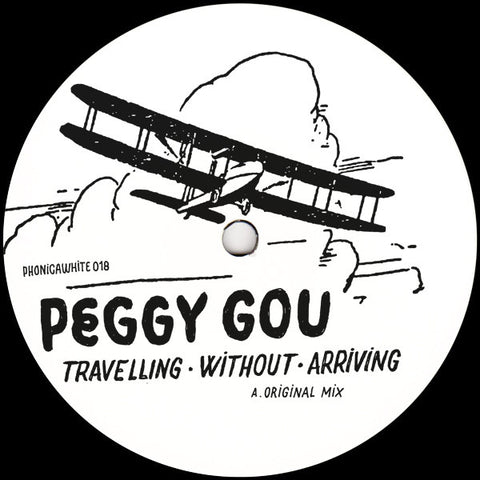 "Peggy Gou ‎– Travelling Without Arriving : Phonica White ‎– PHONICAWHITE 018 : Vinyl, 12"", 45 RPM"