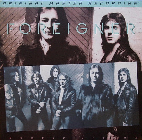 Foreigner ‎– Double Vision : Mobile Fidelity Sound Lab ‎– MFSL 1-341 Series: Original Master Recording – , GAIN 2™ Ultra Analog LP 180g Series – : Vinyl, LP, Album, Limited Edition, Numbered, Remastered, 180 Gram