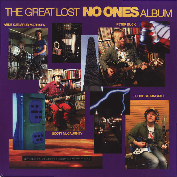 "The No Ones ‎– The Great Lost No Ones Album : Yeproc Records ‎– YEP-2718X : Vinyl, LP, Album, Yellow Purple Splatter Vinyl, 7"", 45 RPM, Single, Purple Yellow Splatter"