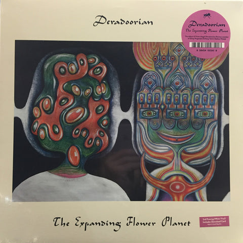 Deradoorian ‎– The Expanding Flower Planet : Anticon ‎– ABR0152 : Vinyl, LP, Album, Limited Edition, Repress, White