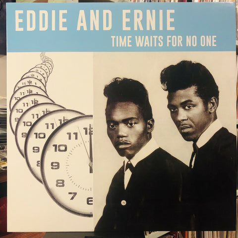 Eddie And Ernie* ‎– Time Waits For No One : Cairo Records (2) ‎– EJ-018 : Vinyl, LP, 45 RPM, Compilation