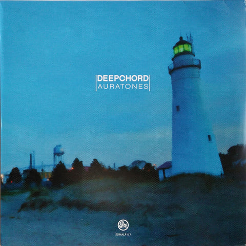 DeepChord ‎– Auratones : Soma Quality Recordings ‎– SOMALP117 : 2 × Vinyl, LP, Album, Golden Marbled Sand