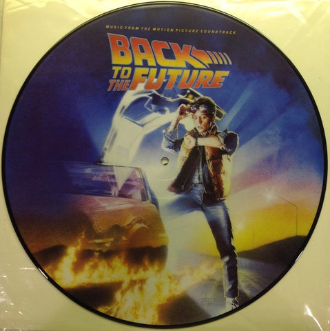 Various ‎– Back To The Future Music From The Motion Picture Soundtrack : Geffen Records ‎– 6144 : Vinyl, LP, Album, Picture Disc