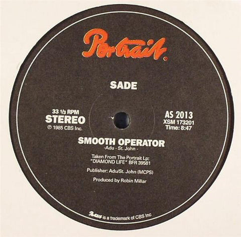 "Sade ‎– Smooth Operator : Portrait (2) ‎– AS 2013 : Vinyl, 12"", 33 ⅓ RPM, Reissue, Unofficial Release"